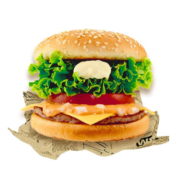フレッシュ野菜バーガー