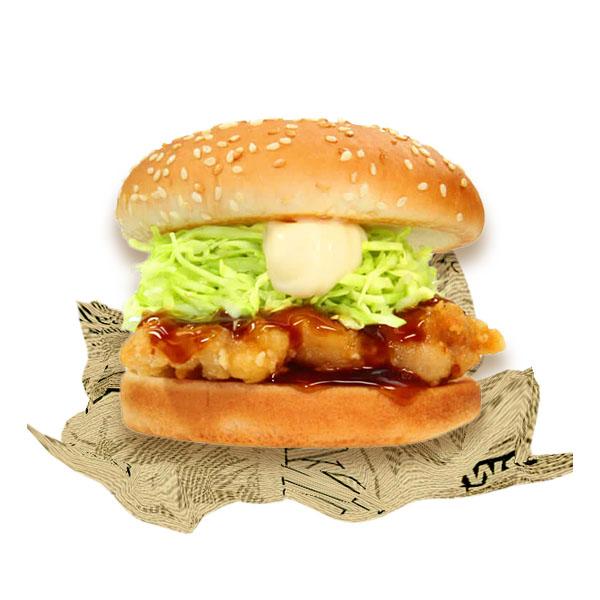 甘辛チキンバーガー